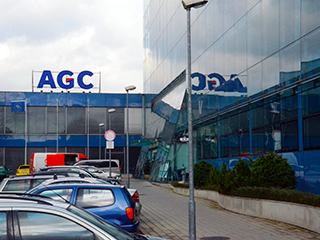 Exkurze do firmy AGC Glass Europe